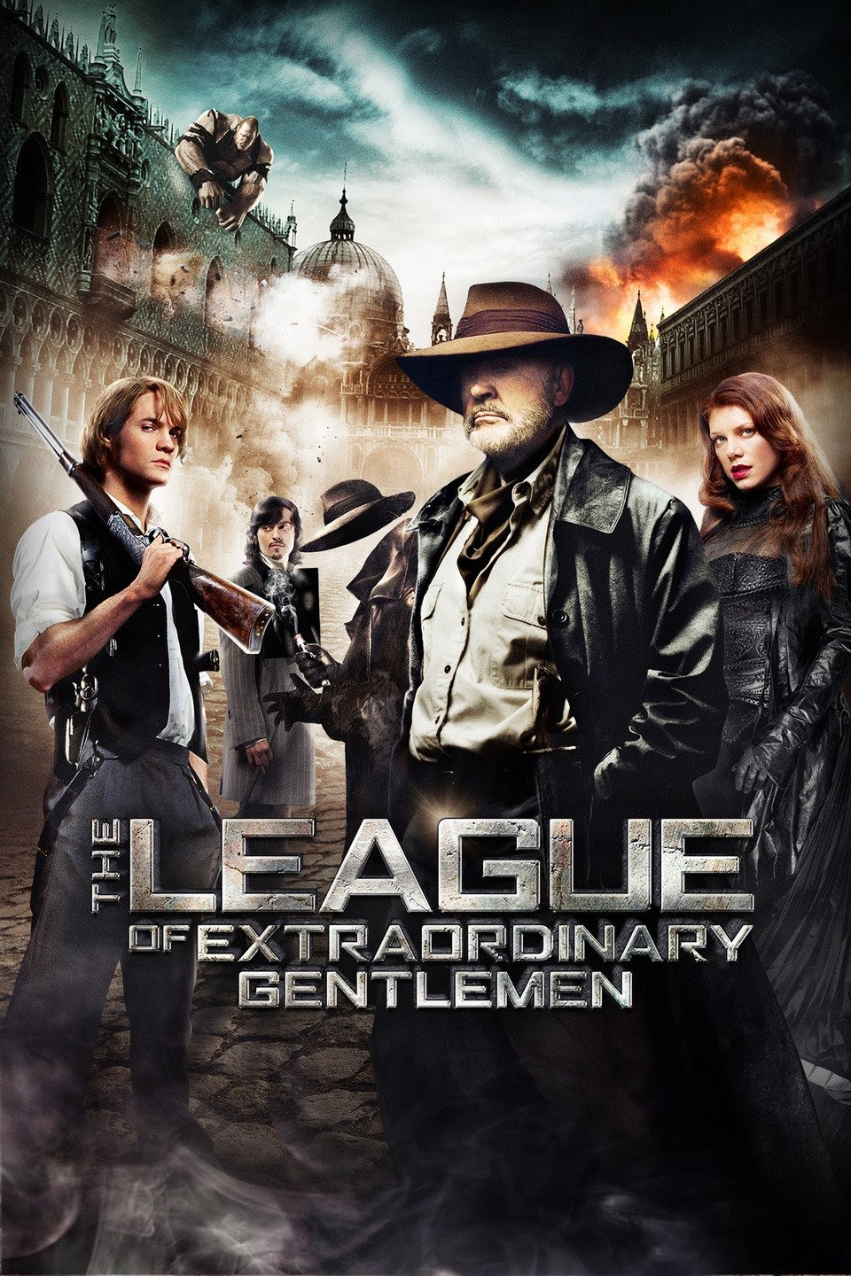 The film's aesthetic is heavily inspired by Steampunk designs